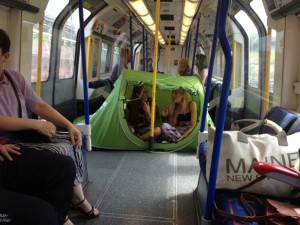 tent in tube
